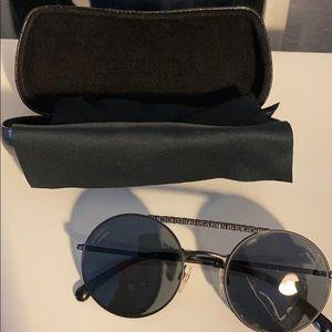 Chanel round polarized sunglasses